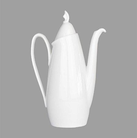 Bule Charming Branco de Porcelana