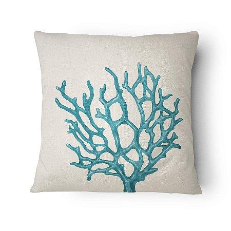 Almofada Náutica Coral Azul
