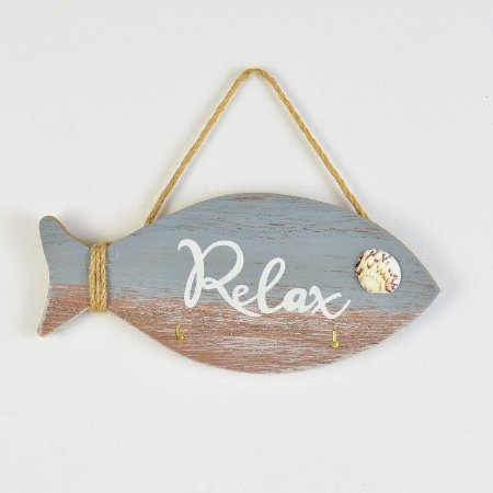 Porta Chaves Peixe Relax