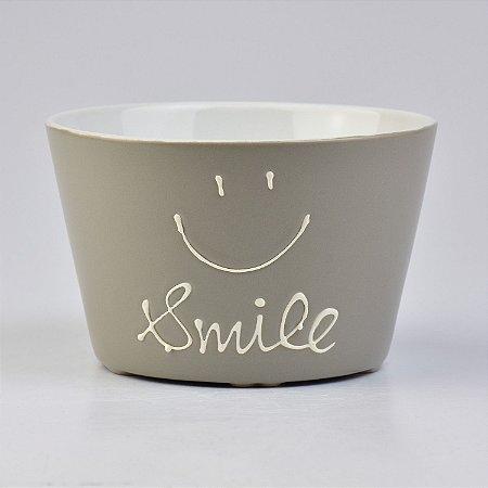 Bowl Ramekin Smile Cinza