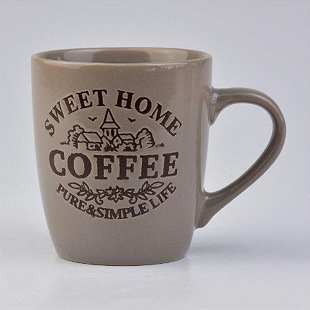 Caneca Marrom Home Coffee