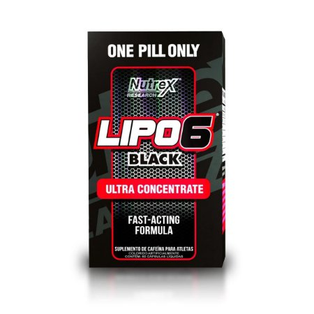 Lipo 6 Black Ultra Concentrate 60 Caps - Nutrex