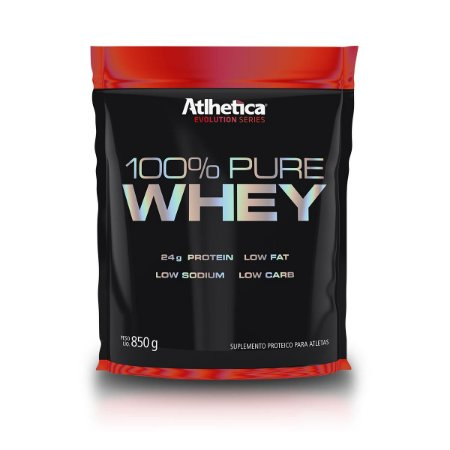 100% Pure Whey 850g - Atlhetica