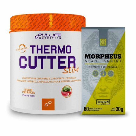 Kit Thermo Cutter + Triptofano Morpheus Night Assist