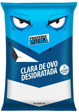 Clara de ovo desidratada (1Kg) / Netto Alimentos