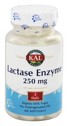 Lactase Enzyme (60 caps) / KAL
