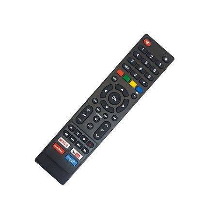 Controle Tv Remoto Todas Smart Philco PrimeVideo Netlix Globoplay