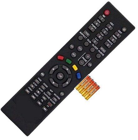 Controle Smart Tv Moozca Twin