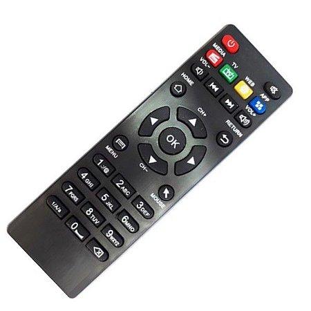 Controle Remoto Smart TV stv2000 STV-2000 Pro 4k TX2 TX3