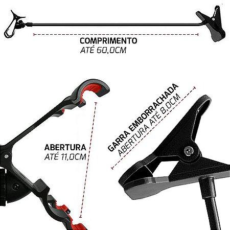 Suporte Universal Braço Flexível Celular Tablet Mesa Cama