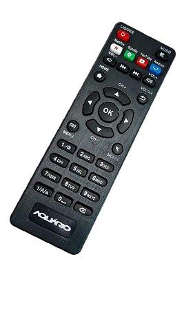 Controle Remoto TV Aquário STV2000 Netflix Youtube PrimeVideo
