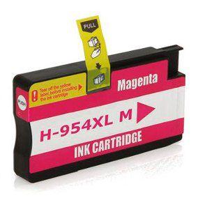 Cartucho Compatível HP 954 954XL L0s65ab Magenta Pro 7740 8710 8720 8740 8210 8716 8725 8700 25Ml