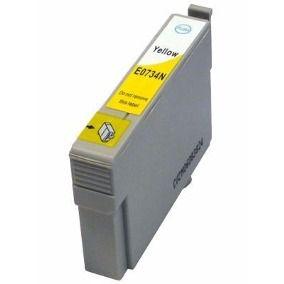 Cartucho Compativel Epson 734 T0734n Yellow T20 TX200 TX400 12ml