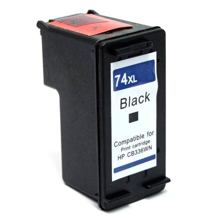 Cartucho Compativel Hp 74xl 74 Black Photosmart C4480 C4280 C5280  19ml