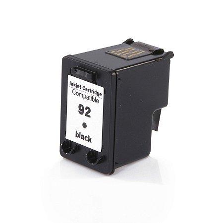 Cartucho Compatível  92 C9362WB Preto D4100 6210 2570 PSC-1507 8ml