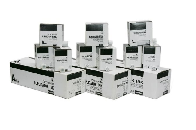 Tinta P/ Uso Duplicador Ricoh Jp12 Jp30 Dx3340 Cp5308 Cp5309 Ldd120 Jp1230 600ml