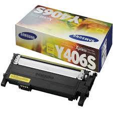 Toner Original Samsung Clt 406 Y406S Yellow Clx 3300 3306 3186 Clp360 365 368 Clx3300 1K
