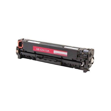 Toner Compatível Hp Cc533a Ce413a Cf383a Magenta Cp2025 Cm2320 M476 M451 M476 Chinamate  2.8K