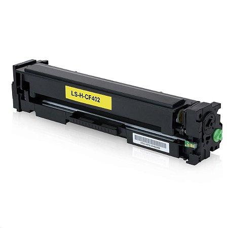 Toner Compatível Hp Cf402a 201A Yellow M252DW M277DW M252 M277 1.4K