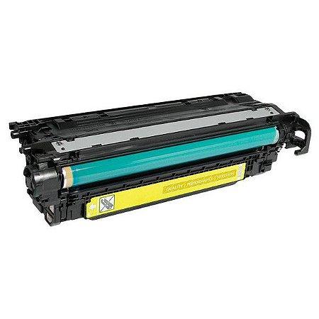 Toner Compatível Ce252a Ce402a Yellow 507a Cp3525 Cp3530 M570 M575 M551 Evolut 6K