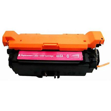 Toner Compatível Ce253a Ce403a Magenta 507a Cp3525 Cp3530 M570 M575 M551 Evolut 6K