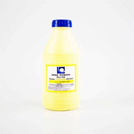 Refil Pó Toner 35Gr High Fusion Yellow Hf2522 P/ Hp Color Cf352 Ce312 Cf402 Cf402a