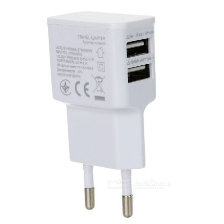 TOMADA USB DUPLA 2A PLUGX
