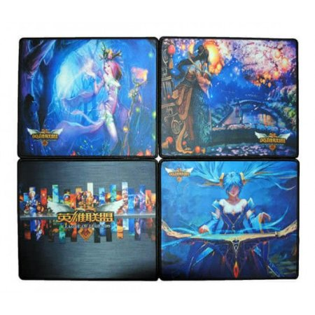 MOUSE PAD GAMER GRANDE 290X230X3MM - ESTAMPAS SORTIDAS