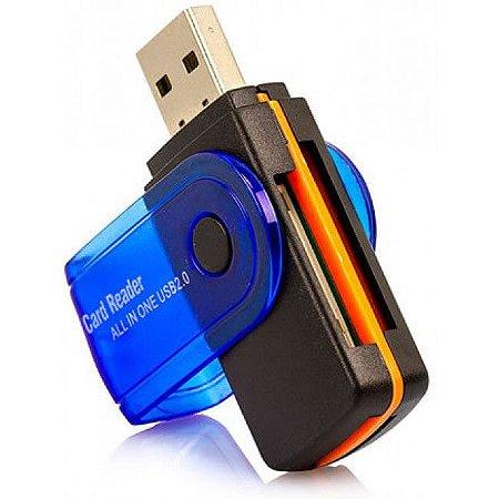 LEITOR DE CARTAO 15 EM 1 USB 2.0