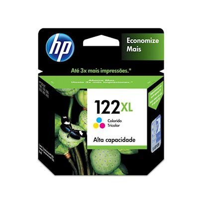 Cartucho Original HP 122xl Black Ch563hb HP Deskjet D1000 1010 1050 D2000 2540 2050 3000 3050 8,5ml