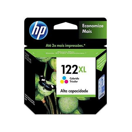 Cartucho Original HP 122xl Color Ch564hb HP Deskjet D1000 1010 1050 D2000 2050 3000 3050 7,5ml