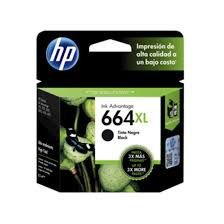Cartucho Original HP 664xl Black F6v31ab HP Deskjet 1115 2136 3636 4536 3635 3776 3788 4676 8,5ml
