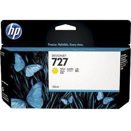 Cartucho Original HP 727 Amarelo B3P21A 130ml HP Designjet T920 T1500 T2500