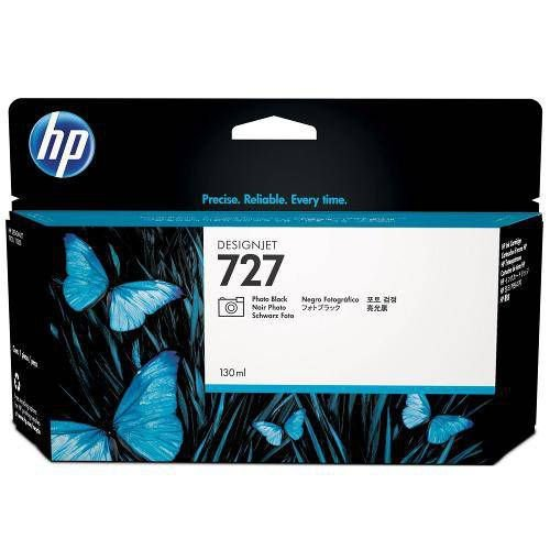 Cartucho Original HP 727 Photo Black B3P23A 130ml HP Designjet T920 T1500 T2500