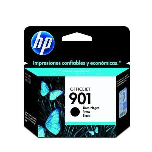 Cartucho Original Hp 901 Hp901 black Cc653ab 4540 J4550 J4580 J4660 4,5ml