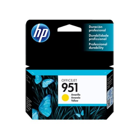 Cartucho Original HP 951 Yellow Cn052ab HP Officejet Pro 8100 8600 M276dw 8610 8620 8630 M251 8ml