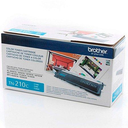 Toner Original Brother Tn210 Cyan Hl-3040 Hl-3070 Mfc-9010 Mfc-9120 Mfc-9320 2.2k