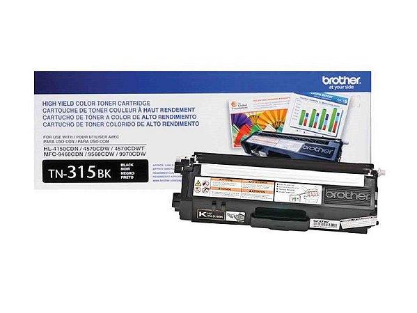 Toner Original Brother Tn315 Black | HL4140 HL4150 HL4570 MFC9970 9460 9560 3.5k