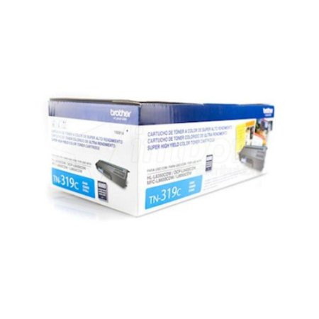 Toner Original Brother Tn319 Tn-319 Cyan | Brother Hl8850cdw Mfc8450cdw Dcp8250cdn Dcp8350 | 6k