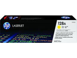 Toner Original Hp Ce322a 128a Yellow | Hp LaserJet Color Cm1415 Cm1415fn Cp1525 Cp1525nw | 1.3k