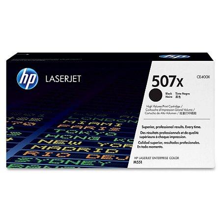 Toner Original Hp Ce400yz Ce400xc 507x Black Hp LaserJet Color M575f M575 M570 M551 | 11.4k