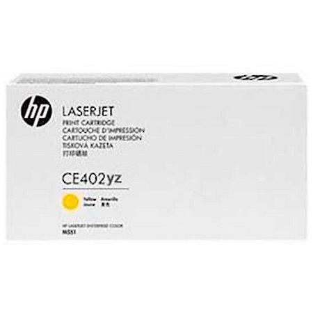 Toner Original Hp Ce402yz 507a Yellow | Hp LaserJet500 Color M575f M575c M570 M551 | 6k
