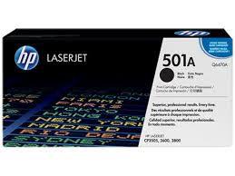 Toner Original Hp Q6470a 501a Preto Hp Laserjet Color 3600 CP3505 3800 6k