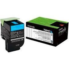 Toner Original Lexmark 808xc 80c8xc0 Cyan | Lexmark Cx510 Cx510de Cx510dhe | 4k