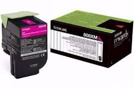 Toner Original Lexmark 808xm 80c8xm0 Magenta | Lexmark Cx510 Cx510de Cx510dhe | 4k