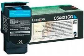 Toner Original Lexmark C544x1cg Cyan | Lexmark C544 C546 X544 X546 X548 | 4k