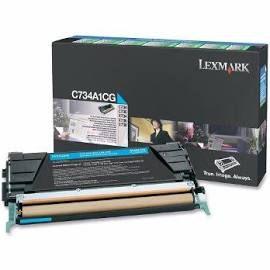 Toner Original Lexmark C734a1cg Cyan | Lexmark C734 C736 X734 X736 X738 | 6k