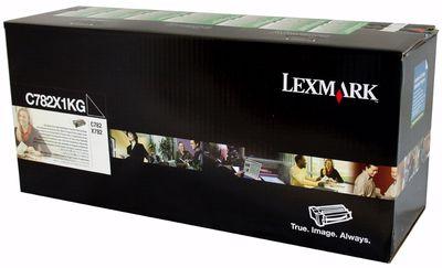 Toner Original Lexmark C782x1kg Black | Lexmark C782 C782dn X782 | 15k