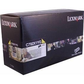 Toner Original Lexmark C792x1yg Yellow C792 X792 20k