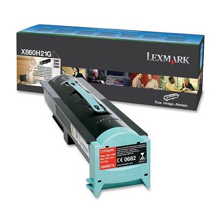 Toner Original Lexmark X860H21G X860 X862 X864 35.000 Pgs